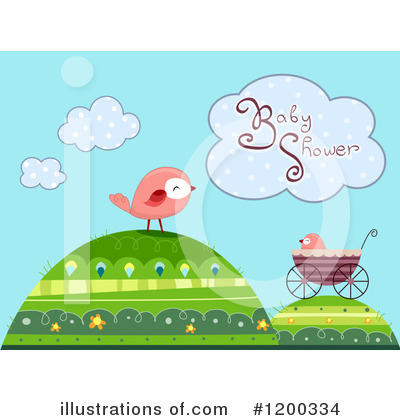Baby Shower Clipart #1200334 by BNP Design Studio