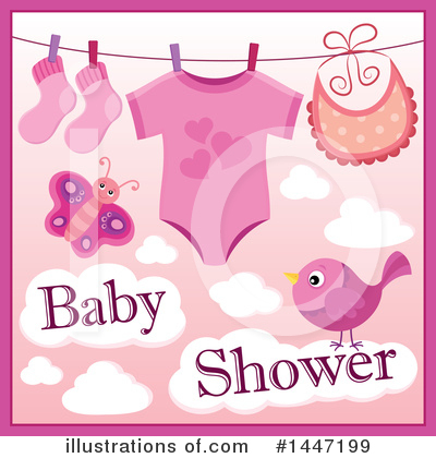 Baby Clipart #1447199 by visekart