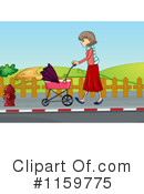 Baby Stroller Clipart #1159775 by Graphics RF