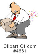 Back Pain Clipart #4661 by djart