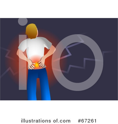 Royalty-Free (RF) Back Pain Clipart Illustration by Prawny - Stock Sample #67261