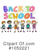 Back To School Clipart #1052221 by BNP Design Studio