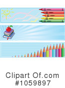 Royalty-Free (RF) Back To School Clipart Illustration #1059897