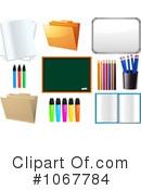 Royalty-Free (RF) Back To School Clipart Illustration #1067784