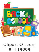Royalty-Free (RF) Back To School Clipart Illustration #1114884