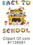 Royalty-Free (RF) Back To School Clipart Illustration #1138981