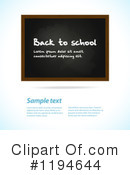 Royalty-Free (RF) Back To School Clipart Illustration #1194644