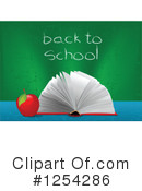Royalty-Free (RF) Back To School Clipart Illustration #1254286