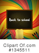 Royalty-Free (RF) Back To School Clipart Illustration #1345511