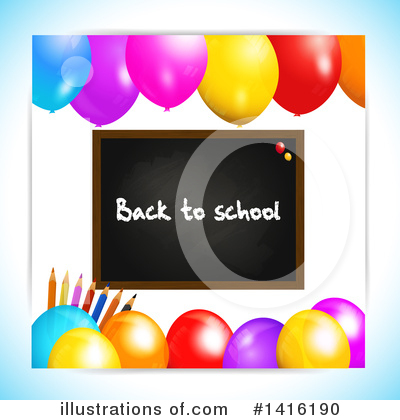Royalty-Free (RF) Back To School Clipart Illustration by elaineitalia - Stock Sample #1416190