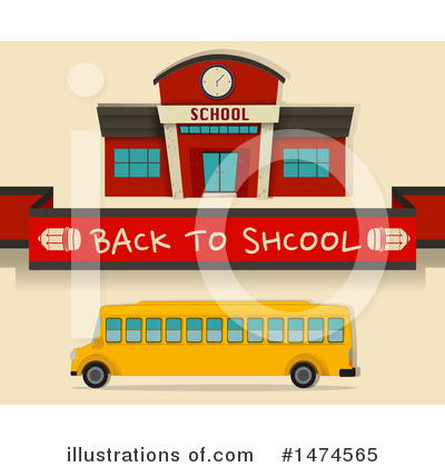 School Bus Clipart #1474565 by Graphics RF