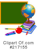 Royalty-Free (RF) back to school Clipart Illustration #217155