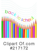 Royalty-Free (RF) Back To School Clipart Illustration #217172