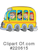 Royalty-Free (RF) Back To School Clipart Illustration #220615
