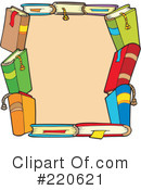 Back To School Clipart #220621 by visekart