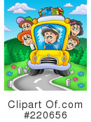 Royalty-Free (RF) Back To School Clipart Illustration #220656