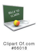 Royalty-Free (RF) Back To School Clipart Illustration #66018