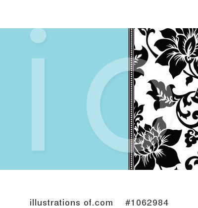 Floral Invite Clipart #1062984 by BestVector