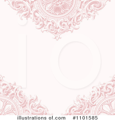 Floral Invite Clipart #1101585 by BestVector