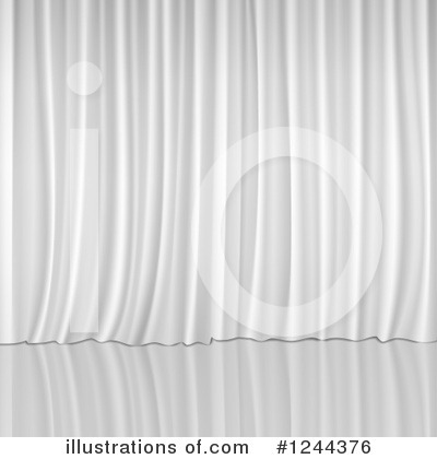 Drapes Clipart #1244376 by vectorace