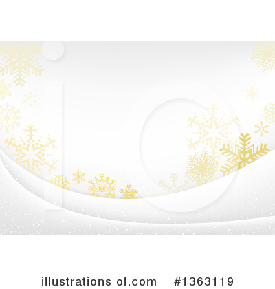 Christmas Background Clipart #1363119 by dero