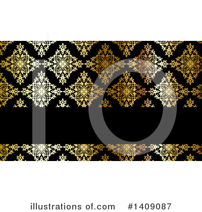 Damask Clipart #1409087 by KJ Pargeter