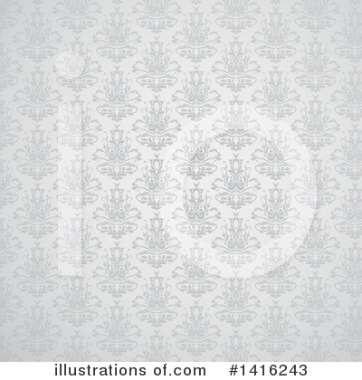 Damask Clipart #1416243 by KJ Pargeter