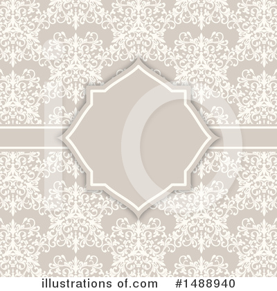Damask Clipart #1488940 by KJ Pargeter