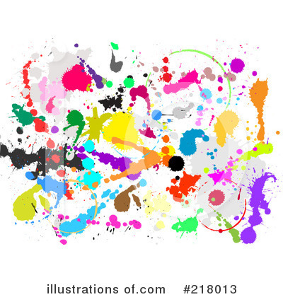 Splatters Clipart #218013 by KJ Pargeter