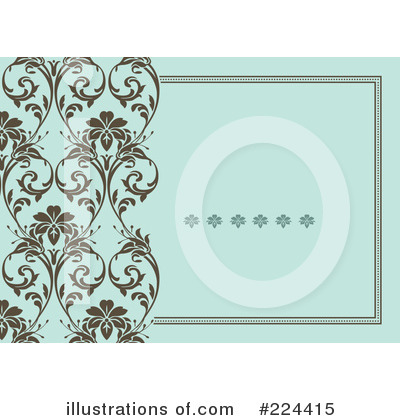 Floral Invite Clipart #224415 by BestVector