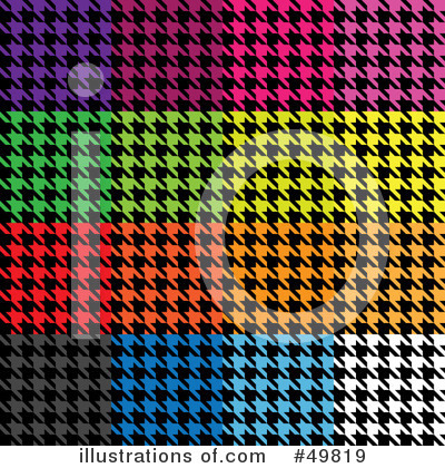Houndstooth Clipart #49819 by Arena Creative
