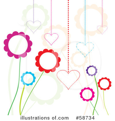Flowers Clipart #58734 by MilsiArt
