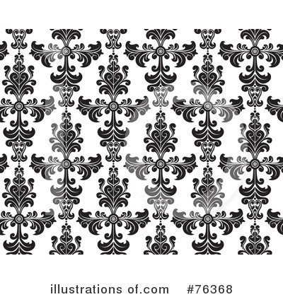 Damask Clipart #76368 by BNP Design Studio
