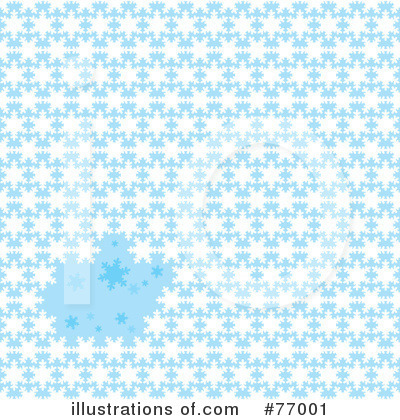 Snowflake Background Clipart #77001 by michaeltravers