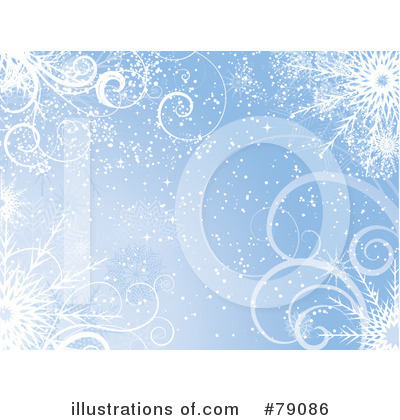 Snowflake Background Clipart #79086 by KJ Pargeter