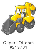 Backhoe Clipart #219701 by Leo Blanchette
