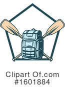 Backpack Clipart #1601884 by Vector Tradition SM
