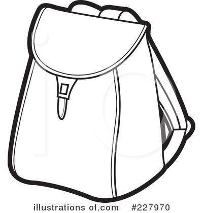 Bag Black And White Clipart Bags Bookbag Clipart Black