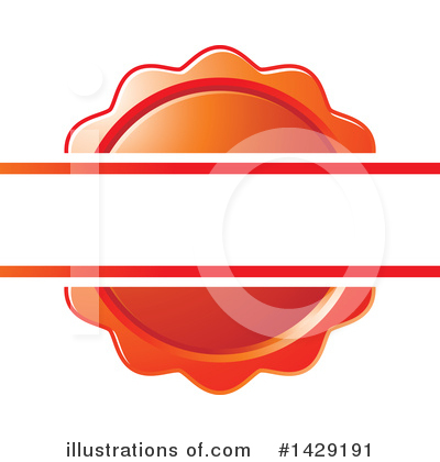 Royalty-Free (RF) Badge Clipart Illustration by Lal Perera - Stock Sample #1429191