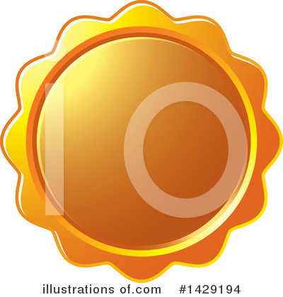 Badge Clipart #1429194 by Lal Perera