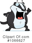 Badger Clipart #1066627 by Cory Thoman