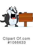 Badger Clipart #1066633 by Cory Thoman