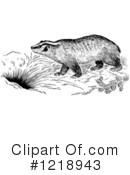 Badger Clipart #1218943 by Picsburg