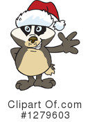 Badger Clipart #1279603 by Dennis Holmes Designs