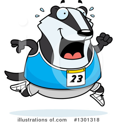 Badger Clipart #1301318 by Cory Thoman