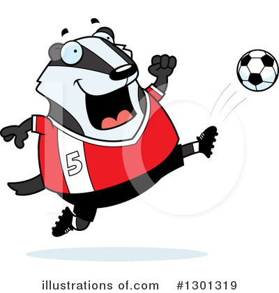 Badger Clipart #1301319 by Cory Thoman