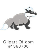 Badger Clipart #1380700 by Alex Bannykh