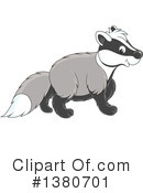 Badger Clipart #1380701 by Alex Bannykh