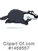 Badger Clipart #1458557 by Cory Thoman