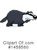 Badger Clipart #1458560 by Cory Thoman